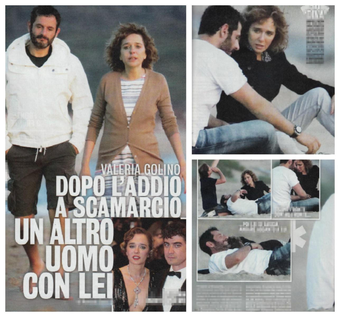 Valeria Golino e Gianluca De Marchi