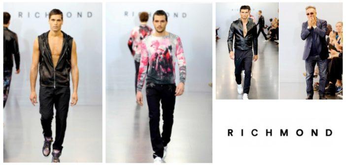 Scopri le foto della sfilata di Richmond spring summer 2017 dedicata alla moda uomo. Gli outfit della primavera estate nella sfilata maschile