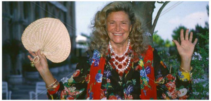 Marta Marzotto, addio alla regina dei salotti internazionali