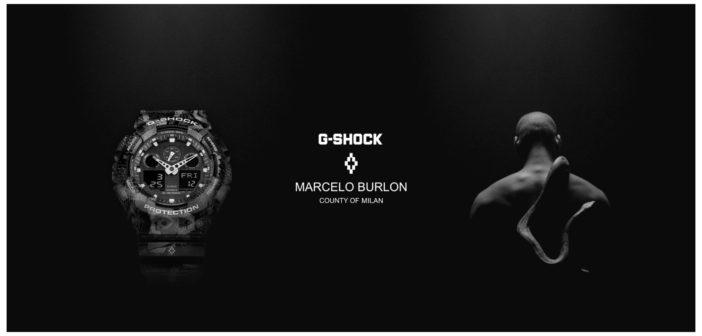 G-shock e Marcelo Burlon
