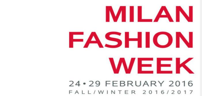 MFW Milano MOda Donna FAll winter 2016-17