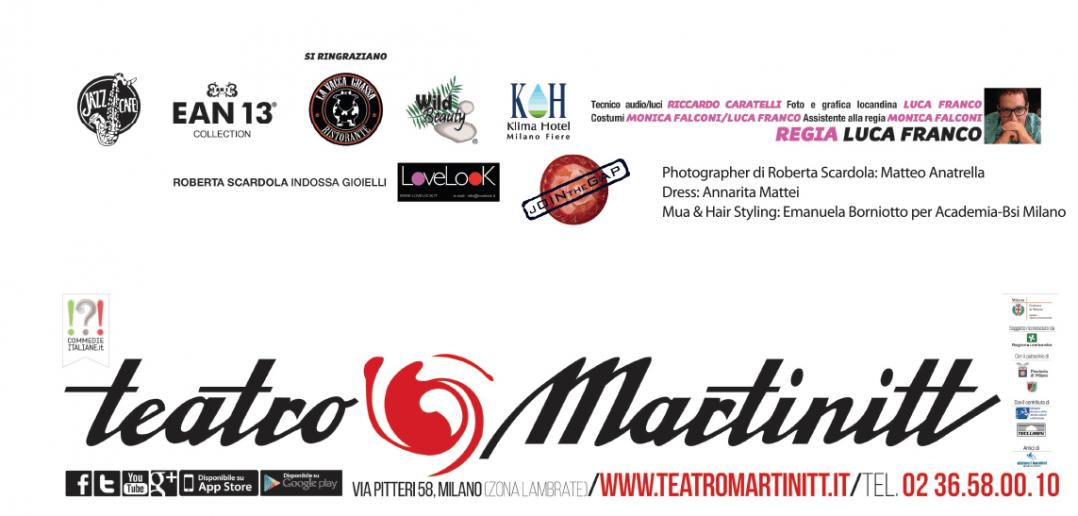 TEATRO MARTINITT PRENOTAZIONE 02 36580010
