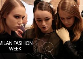 Milan Fashion Week Fall Winter 2019 The one Italian Fashion Night –  Elisabetta Franchi