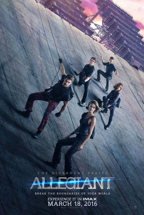 The Divergent Series - Allegiant locandina 1