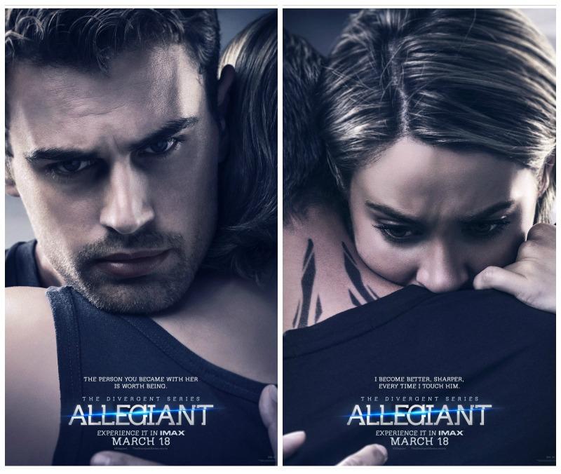 The Divergent Series - Allegiant locandine