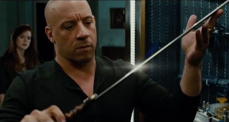Vin Diesel armi 2