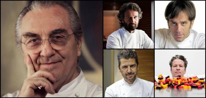 I fantastici quattro di Gualtiero Marchesi