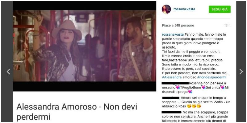 amedeo e rossana instagram