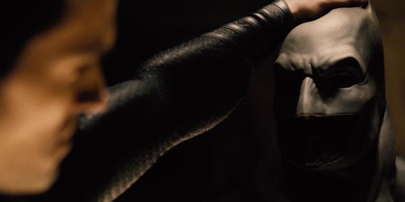 batman v superman maschera