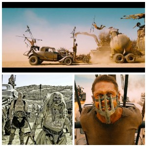 mad max fury road collage