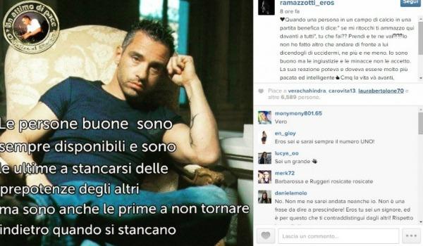 ramazzotti instagram