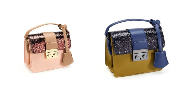 Sparkling style bag BEATRICE B